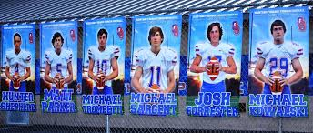 high school senior sports banners athletic banners show your pride in your senior and school or club