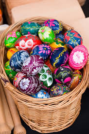 easter eggs for sale painted easter eggs for sale stock image image of celebration
