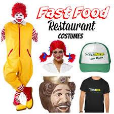 Halloween Costume Food Fast Food Restaurant Costumes Food Costumes Costumes Food