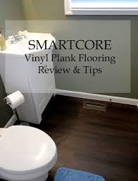 Vinyl Planks Bathroom Vinyl Plank Flooring From Smartcore Review U0026 Laying Tips