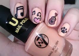 luminousnailshotpinksilverblacknails nails purple glitter and