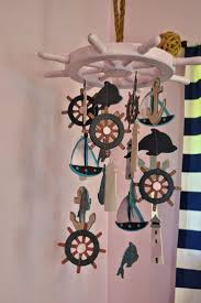 best 25 nautical baby nursery ideas on pinterest nautical baby have got to make something like this for his nursery manic mama miles nautical nursery diy baby mobile maybe not a mobile but wall hangings