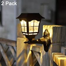 what is the best solar lighting for outside 10 best solar fence lights reviews and buying guide