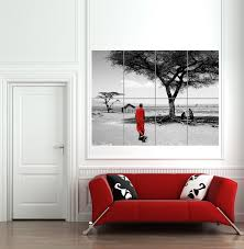 Key Home Decor by Living Room Art Canvas And Print As Living Room Decor Maasai
