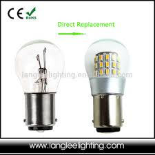 led light bulb replacement high quality 12v 24v 10 30v ba15d bay15d ba15s marine signal led