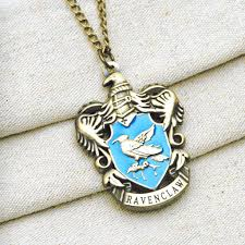 harry potter pendant necklace images Harry potter ravenclaw house crest pendant necklace bronze jpg