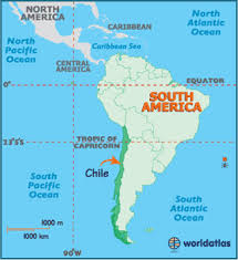 chile physical map chile map geography of chile map of chile worldatlas