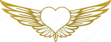Hearts With Wings - with wings stock vectors royalty free with wings