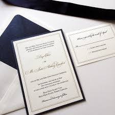 thermography wedding invitations lirys justin s navy metallic gold thermography wedding