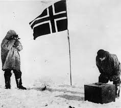 Antarctic Flag The Treacherous Race To The South Pole History In The Headlines