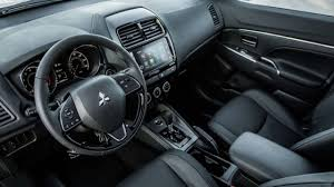 mitsubishi interior 2018 mitsubishi outlander sport interior youtube