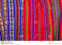peruvian fabrics stock photo image 47211442