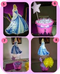Homemade Table Centerpieces For Parties by Diy Princess Party Decor Used Plastic Table Cloths Parties