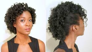 curly hair with mohawks amazing mohawk hairstyles for black women