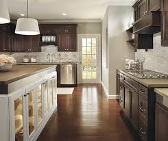 wood kitchen cabinets with white island homecrest kitchens