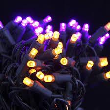 seasonal source 5mm50po f halloween lights 5mm led purple and