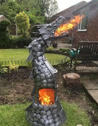 Best Type Of Chiminea Fire Breathing Dragon Log Wood Burner Gas Bottle Chimenea Game Of
