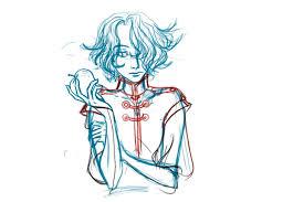 snow white boy sketch raurenred deviantart