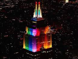 empire state building lights tonight empire state building is turning into a giant rainbow for pride