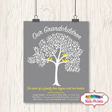 family tree print prints