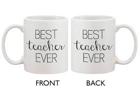 Best Coffee Mug Funny Ceramic Coffee Mug With Bold Statement U2013 Best Teacher Ever