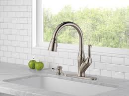 100 delta hands free kitchen faucet delta faucet 4159 ar