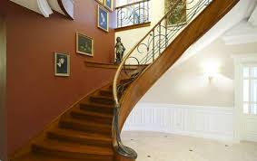 Iron Handrail For Stairs Classic Stairs With High Class Finishes And Attention To Detail