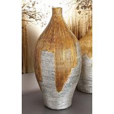 Large Wicker Vases Rustic Vases You U0027ll Love Wayfair