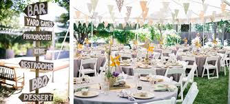 How To Decorate A Backyard Wedding Diy Backyard Bbq Wedding Reception Snixy Kitchen