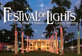 kauai festival of lights an annual tradition in the