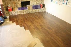 Resilient Plank Flooring Stylish Decoration Vinyl Tile That Looks Like Wood Bright