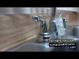 how to tighten kitchen sink faucet how to tighten a faucet handle