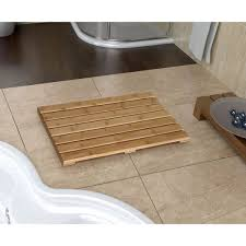 bathroom mat ideas casual bamboo bathroom mat shower ideas of great select bamboo