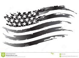 Usa Flag Vector Usa Flag Vector Grayscale Icon Stock Vector Image 96316605