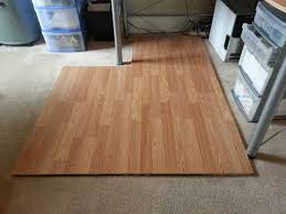 Can You Glue Laminate Flooring Together Laminate Flooring Chairmat Diy