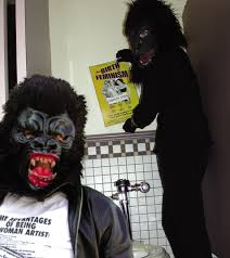 guerrilla girls growl and take over twin cities arts organizations