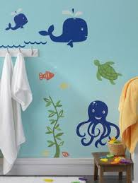 sea bathroom ideas this bathroom paint the walls blue and add fish and it