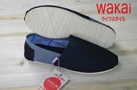 Sepatu Wakai jual sale promo sepatu wakai pria santai slipon kaskus