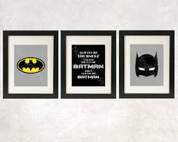 Batman Desk Accessories Batman Wall Always Be Batman Prints