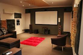 How To Decorate Home Theater Room Cozy Home Theater Room Design Ideas For Your Home