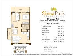 north park residences floor plan siena park residences projects by dmci homes