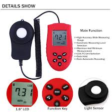 where to buy a light meter high accurate 200000 lux digital light meter tester photometer