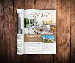 home builder free mastercraft magazine ad design print collateral