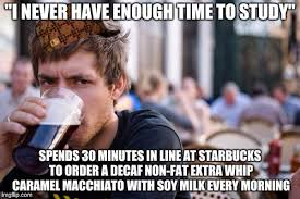 College Senior Meme - lazy college senior meme imgflip