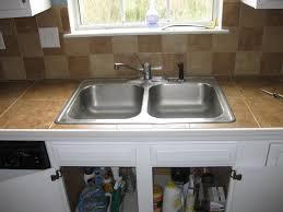 Undermount Porcelain Kitchen Sinks by Brown Porcelain Undermount Kitchen Sinks With Double Silver Steel