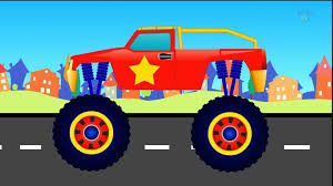 youtube monster truck jam for kids police vs car battle video police monster truck videos