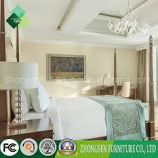 china india style 5 star luxury hotel bedroom furniture set zstf