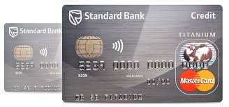 Sle Of Credit Card Statement by Titanium Credit Card Standard Bank South Africa
