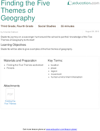 lesson plans for third grade social studies education com