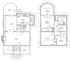 The Red Cottage Floor Plans by Thats A Nice Looking Layout Modified Foursquare Plans Four Square